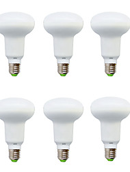 6W E14 Ampoules Globe LED R50 10 SMD 5630 210-240 lm Blanc Chaud / Blanc Froid Décorative V 6 pièces