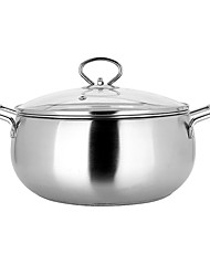 Food Grade Cooking Pot Cookware  Stainless Steel Cookware 18cm