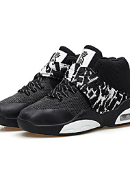 Men's Sneakers Spring / Fall Comfort PU Athletic Flat Heel Others / Lace-up Black / Blue / White Basketball