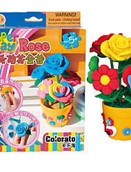 DIY KIT / Putties Leisure Hobby Toys Vase Rainbow For Boys / For Girls