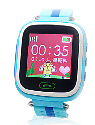 Blue Double Color Strap - High-Grade Tin Box Touch Screen Location Phone Watch