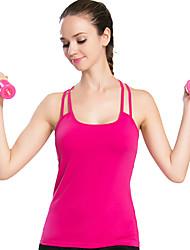 Sportif®Yoga Débardeur Respirable / Confortable Extensible Vêtements de sport Yoga / Pilates Femme