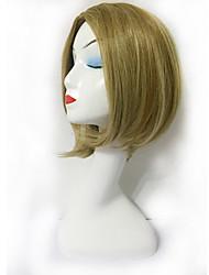 de haute qualité charmante vague perruque courte Roese chaleur net perruques synthétiques résistantes pour les femmes chapeau libre