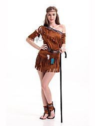 Indian Festival/Holiday Costumes Dress / Headwear / Sleeves / Leg Warmers Female Polyester