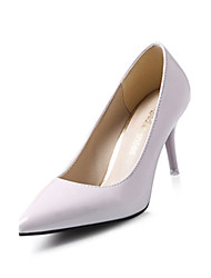 Women's Heels Spring Fall Comfort PU Casual Low Heel Pink Red White Other