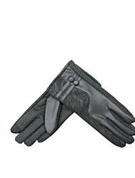 (Note - gris) ms gants de wagons ouverts économiseur d'écran des gants chauds touchent