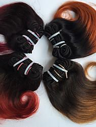 Ambra Brasiliano Ondulato 18 mesi 4 pezzi tesse capelli