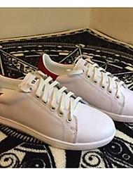 Homme-Décontracté-Noir / BordeauxConfort-Sneakers-Cuir