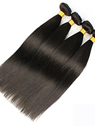 Vinsteen 4 Pieces same size Straight Human Hair Weaves Brazilian Texture 0.4 kg 8-30 inch Human Hair Extensions