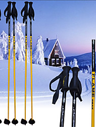 FLAME_9MAX Ski Pole.Ski Sports Supplies/ Yellow