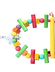 Portable Multi-Color Bird Toys1PC