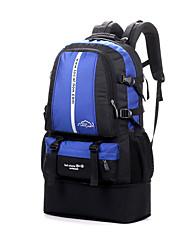 50 L Pacotes de Mochilas / Viagem Duffel / Organizador de Viagem / mochila / Mochila para ExcursãoAcampar e Caminhar / Montanhismo /