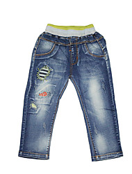 Boy Going out / Casual/Daily / School Patchwork Jeans-Denim All Seasons