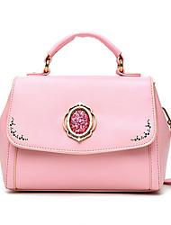 Women Pigskin Casual / Outdoor Shoulder Bag