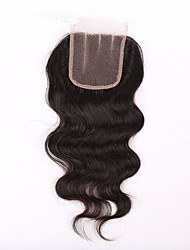 8A 3.5X4 Body Wave 3 Way Part Middle Part Brazilian Virgin Hair Lace Top Closure Human Hair Closure Brazilian Lace Closures