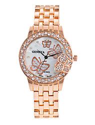 Mulheres Relógio Elegante Relógio de Moda Relógio de Pulso Bracele Relógio Quartzo Punk Colorido Mostrador Grande Lega BandaVintage