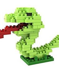 Kit Faça Você Mesmo para presente Blocos de Construir Cobra Plástico 8 a 13 Anos Brinquedos