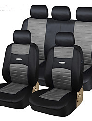 AUTOYOUTH 11pcs Set Fashion Car Seat Covers Universal Compatible with Most Vehicle  Seat Cover Easy to Install