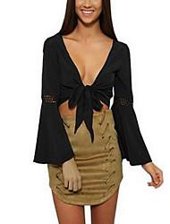 Women's Bodycon Solid Skirts,Club Low Rise Midi Zipper Cotton Micro-elastic Fall