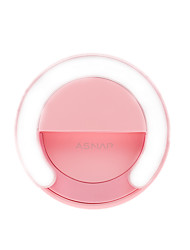 ASNAP Smart Ring Selfie Light of 5 Kinds of Lighting for SmartPhones