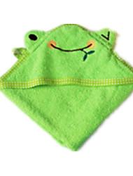 зеленый хлопкоочистительной собак полотенце ванны 1ps (с кодом)