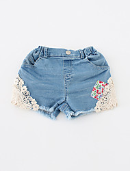 Girl Casual/Daily / Sports Solid Shorts-Cotton Winter / Fall