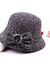 Women Polyester Bowler/Cloche Hat,Casual Fall / Winter