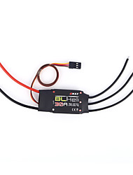 30A 2A 5V Electric Speed Controller for 250 FPV Quadcopter for EMAX BLHELI/RC Speed Controller (ESC) RC Quadcopters Black 1 Piece