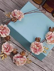 Femme Imitation de perle / Tissu Casque-Mariage / Occasion spéciale / Décontracté Serre-tête / Couronnes 1 Pièce
