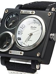 Мужской Спортивные часы / Армейские часы / Нарядные часы / Модные часы / Наручные часы КварцевыйКалендарь / С двумя часовыми поясами /