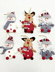 6pcs High Quality Christmas Ornaments / Tree Decoration