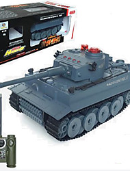 Tanque Carreras 518 1:12 Brushless Eléctrico RC Car 50km/h 2.4G Camuflaje Listo para Usar Tanque / Cable USB / Manual de Usuario