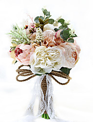 "Wedding Flowers Free-form Lilies Bouquets Party/ Evening Taffeta 19.7""(Approx.50cm)"