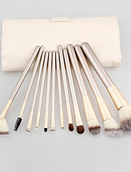 12Pcs Makeup Brush Kits Professional Synthetic Cosmetic Makeup Brush Foundation Eyeshadow Eyeliner Brushing Brush Kits