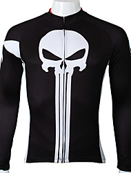 Ilpaladin Sport Men Long Sleeve Cycling Jerseys  CX044  The Punisher