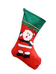 Bolsa e Malas Vermelho Pelúcia Acessórios de Cosplay Natal