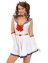 5pcs Anime Sailor Heroine Costume