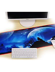 Professional Custom Computer Game Wolf Gaming Mouse Pad Used For  Deskop And Laptop Computer 30x80x0.2cm
