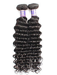 Lidské vlasy Vazby Brazilské vlasy Velké vlny 6 měsíců Vazby na vlasy