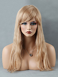Attractive Long Capless Wigs Natural Straight Human Hair  Wigs