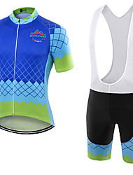 WOLFKEI Summer Cycling Jersey Short Sleeves BIB Shorts Ropa Ciclismo Cycling Clothing Suits #28