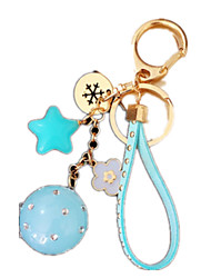 Key Chain Leisure Hobby Key Chain Circular Blue For Boys / For Girls