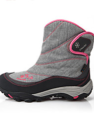 Clorts Women's Snow sports Mid-Calf Boots Winter Anti-Slip / Waterproof / Breathable Shoes Dark Green / Rose Pink