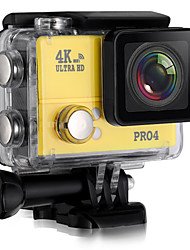 PRO4 Sports Action Camera 20MP 4608 x 3456 WiFi / Adjustable / wireless / Wide Angle 30fps No ±2EV No CMOS 32 GB H.264Single Shot / Burst