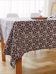 Quadrada Padrão / Mosaico de Retalhos Toalhas de Mesa , Mistura de Algodão Material Hotel Mesa de Jantar / Tabela Dceoration