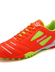 Soccer Shoes Men's Anti-Slip Anti-Shake/Damping Breathable Wearproof Outdoor Low-Top PU Soccer/Football