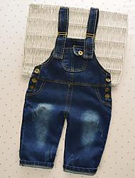 Boy Casual/Daily Solid Pants-Nylon Fall