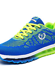 Boy's Athletic Shoes Spring Summer Fall Winter Comfort Synthetic Outdoor Casual Athletic Flat Heel Lace-up Blue Green Gray