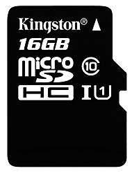 Kingston 16GB Micro SD Card TF Card memory card UHS-I U1 Class10