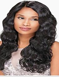 vague corps cheveux humains perruques avant de lacet pour les femmes noires